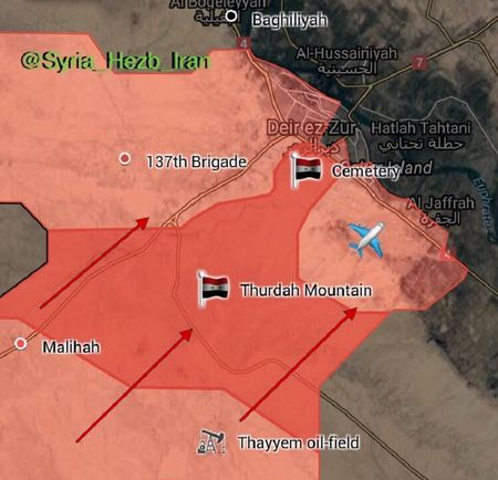 My ngang nhien tung don danh quan doi Syria tai Deir Ezzor - Anh 3