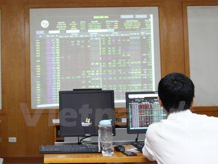 Chung khoan duy tri da tang, VN-Index len moc 802 diem - Anh 1