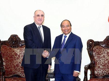Thu tuong Nguyen Xuan Phuc tiep Bo truong Ngoai giao Azerbaijan - Anh 1