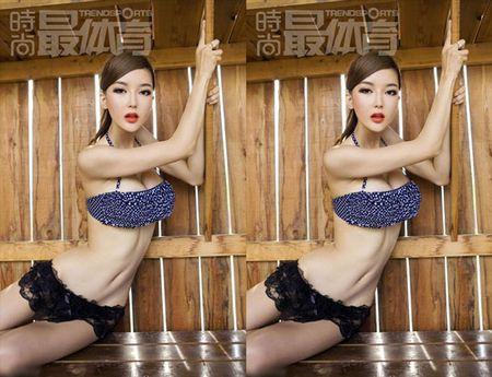 'Tieu Pham Bang Bang' tiet lo bi mat dang sau khuon nguc 90cm - Anh 9