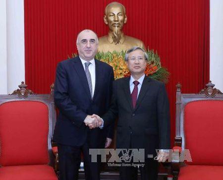 Chu nhiem Uy ban Kiem tra Trung uong tiep Bo truong Ngoai giao Cong hoa Azerbaijan - Anh 1