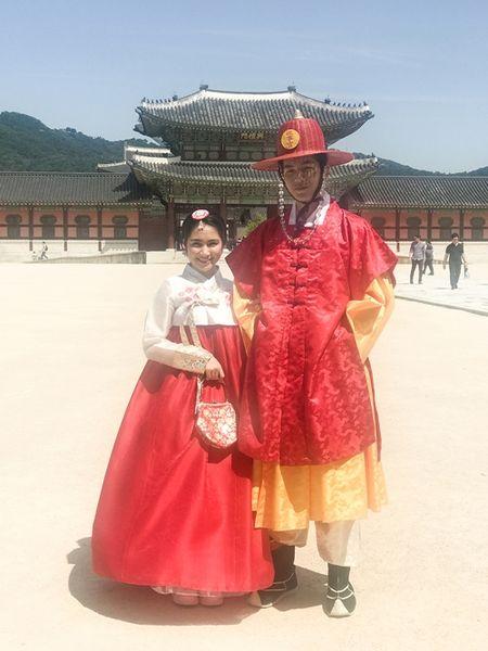 Hoa Minzy dien hanbok kham pha Han Quoc cung trai dep - Anh 4