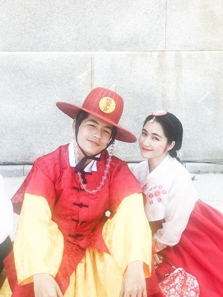 Hoa Minzy dien hanbok kham pha Han Quoc cung trai dep - Anh 5