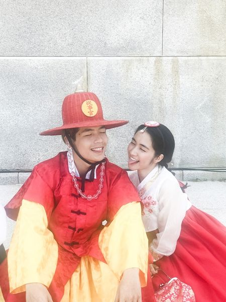 Hoa Minzy dien hanbok kham pha Han Quoc cung trai dep - Anh 6