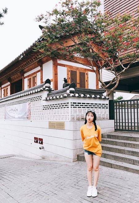 Hoa Minzy dien hanbok kham pha Han Quoc cung trai dep - Anh 8