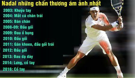 Nadal chien binh 'Saiyan', 27 chan thuong van 'hoa rong' Grand Slam - Anh 2