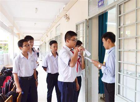 TP.HCM: Cong bo de thi minh hoa mon Toan lop 10 nam hoc 2018-2019 - Anh 1