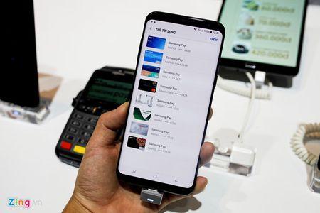 Samsung Pay ve Viet Nam, ho tro thanh toan bang mong mat - Anh 1