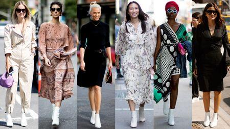 Thoi trang duong pho New York Fashion Week: Tu sexy den sang chanh - Anh 2