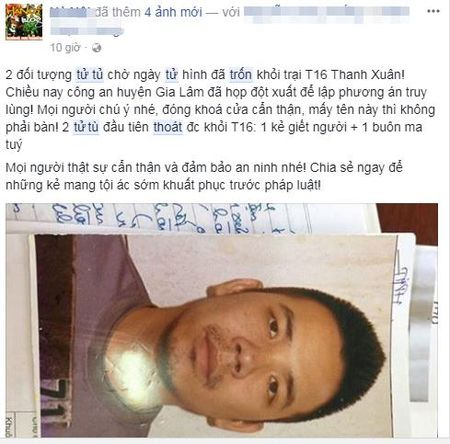 """Vu hai tu tu tron trai: Cu dan mang hien ke """"doc chieu"""" ung pho - Anh 2"""