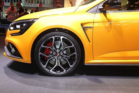 Renault Megane RS moi, 'doi thu' cua Ford Focus RS - Anh 4