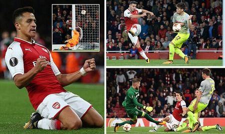 Sanchez toa sang, Arsenal nguoc dong ngoan muc ha Cologne! - Anh 1