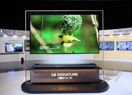 TV OLED 'dan tuong' cua LG co gi hap dan? - Anh 1