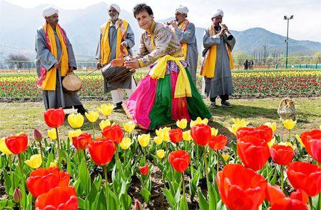 Canh sac than tien o Kashmir - Anh 5