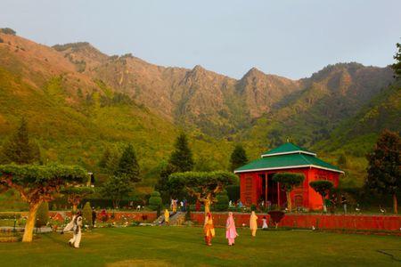 Canh sac than tien o Kashmir - Anh 7