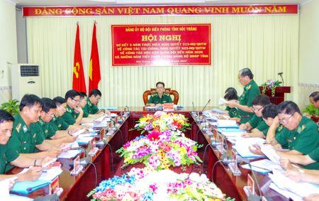 BDBP Soc Trang tiep tuc doi moi cong tac tai chinh, hau can - Anh 1