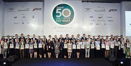 Vinh danh 50 DN niem yet tot nhat Viet Nam 2017: SSI gop mat lan thu 4, Vietjet, Petrolimex moi len san da lot top - Anh 1