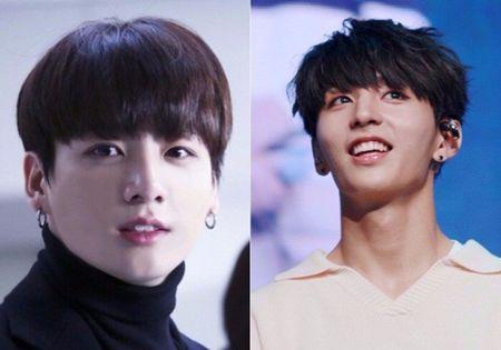 Tan binh Kpop co dien mao nhu anh em cua Jung Kook (BTS) - Anh 2