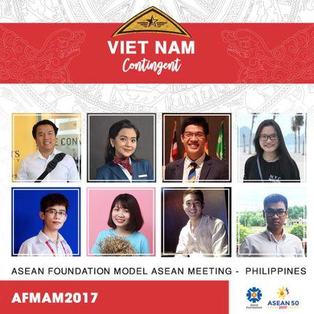 8 nam thanh nu tu tham du Hoi nghi mo phong Hoi nghi cap cao ASEAN 2017 - Anh 2