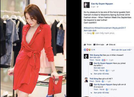 """Hoa hau Ky Duyen se """"quay tung noc"""" tai Milan Fashion Week 2018 - Anh 1"""