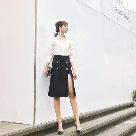 Sao Viet chuong style 'banh beo' khi xuong pho - Anh 9