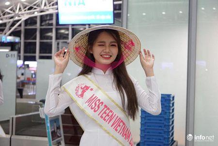 Miss Teen Viet Nam duyen dang trong ta ao dai truyen thong tren dat Han Quoc - Anh 10