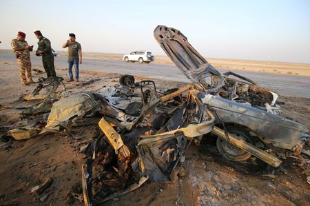 Danh bom tu sat lien hoan o Iraq, hang tram nguoi thuong vong - Anh 1