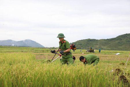 Cong an Ha Tinh sat canh cung nguoi dan ung pho bao so 10 - Anh 1