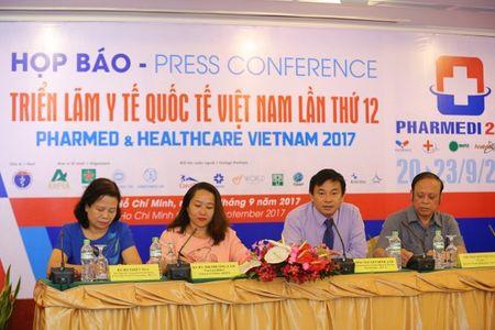 400 don vi tham du 'Trien lam Y te Quoc te Viet Nam 2017' - Anh 1