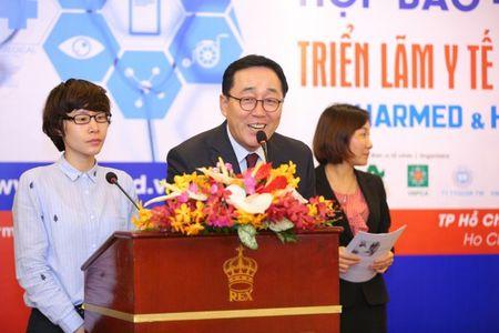 400 don vi tham du 'Trien lam Y te Quoc te Viet Nam 2017' - Anh 3