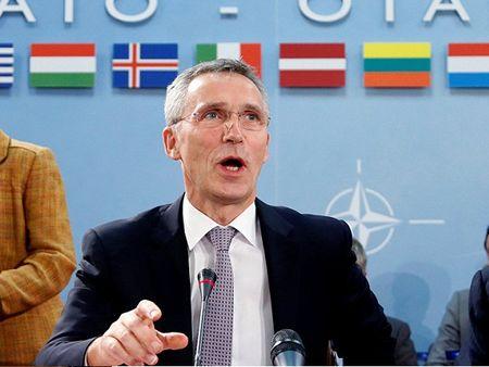 NATO tiep tuc tang cuong giam sat chuong trinh vu khi hat nhan va ten lua Trieu Tien - Anh 1
