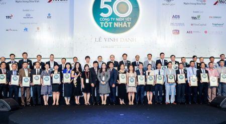 Forbes Viet Nam vinh danh 50 cong ty niem yet tot nhat 2017 - Anh 1