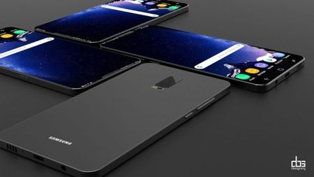 Y tuong thiet ke Samsung Galaxy S9 giong iPhone X - Anh 3