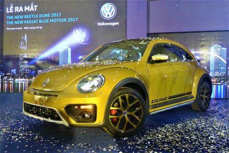 Volkswagen Viet Nam ra mat bo doi Beetle Dune va Passat Bluemotion 2017 - Anh 2
