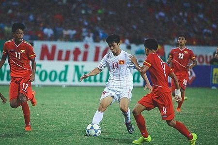U18 Viet Nam guc nga truoc Myanmar: Nho Cong Phuong va… U19 - Anh 1