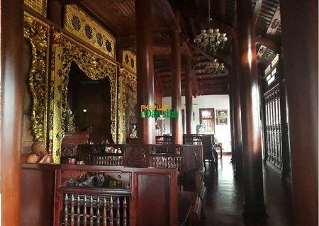 Hoa mat truoc biet phu rong thenh thang bang go quy cua ong Chi cuc truong Chi cuc Kiem lam Quang Tri - Anh 4