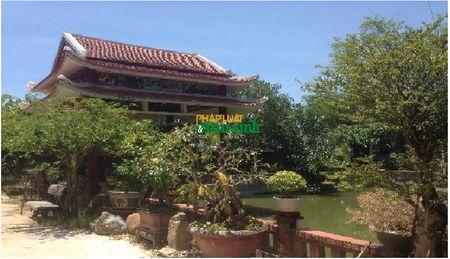 Hoa mat truoc biet phu rong thenh thang bang go quy cua ong Chi cuc truong Chi cuc Kiem lam Quang Tri - Anh 6