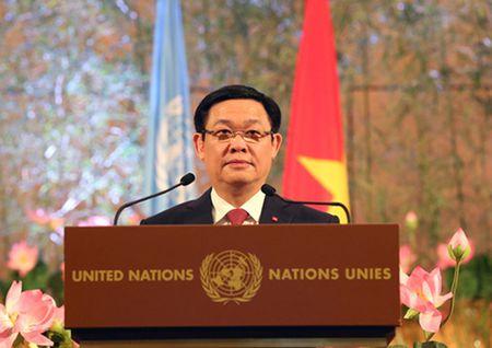 Pho Thu tuong Vuong Dinh Hue: Tran trong quan he hop tac Viet Nam - Lien hop quoc - Anh 1