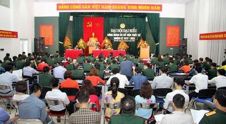Dai hoi Cong doan co so Vien Thiet ke - Bo Quoc phong - Anh 1
