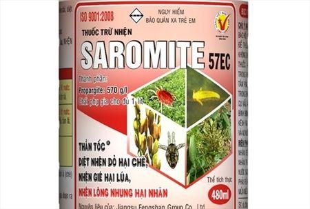 Thuoc tru nhen SAROMITE 57EC - Anh 1