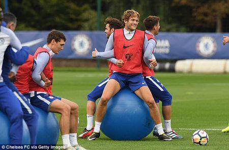 Chelsea luyen voi 'vu khi bi mat' cho ngay quyet dau Arsenal - Anh 4