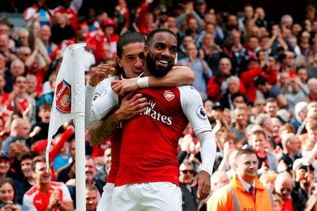 Alexandre Lacazette 'ke kho' o Arsenal - Anh 1