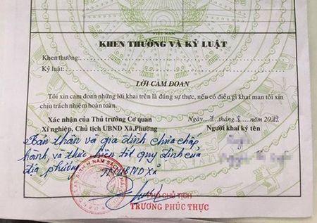 Hai Duong: Khien trach PCT xa ky 'but phe la' vi chua dong tien lam duong - Anh 1