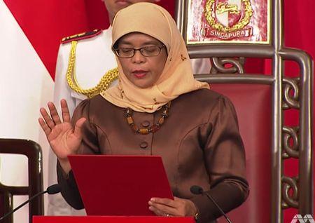 Ba Halimah Yacob – nu tong thong dau tien cua Singapore - Anh 1