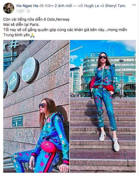 Ha Ho va Kim Ly mang giay doi dao pho, Tran Thanh mat hanh ly tai Na Uy - Anh 1
