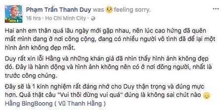 Thanh Duy Idol xin loi khan gia vi tro dua phan cam - Anh 2