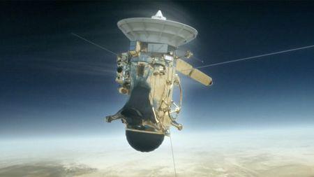 Tau Cassini vui minh tren sao Tho - Anh 1