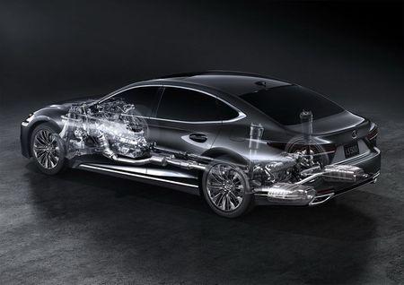 Ro ri gia ban Lexus LS 500h 2018 tu 1,71 ty dong - Anh 5