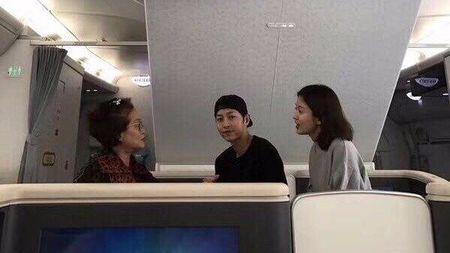 Bat gap Song Hye Kyo tan huong cuoc song doc than, tranh thu tu tap ban be - Anh 3