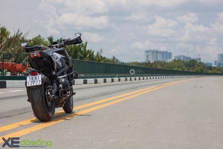 Yamaha MT-09 'Matte Black' do cuc ngau cua Saigon Maxspeed - Anh 10